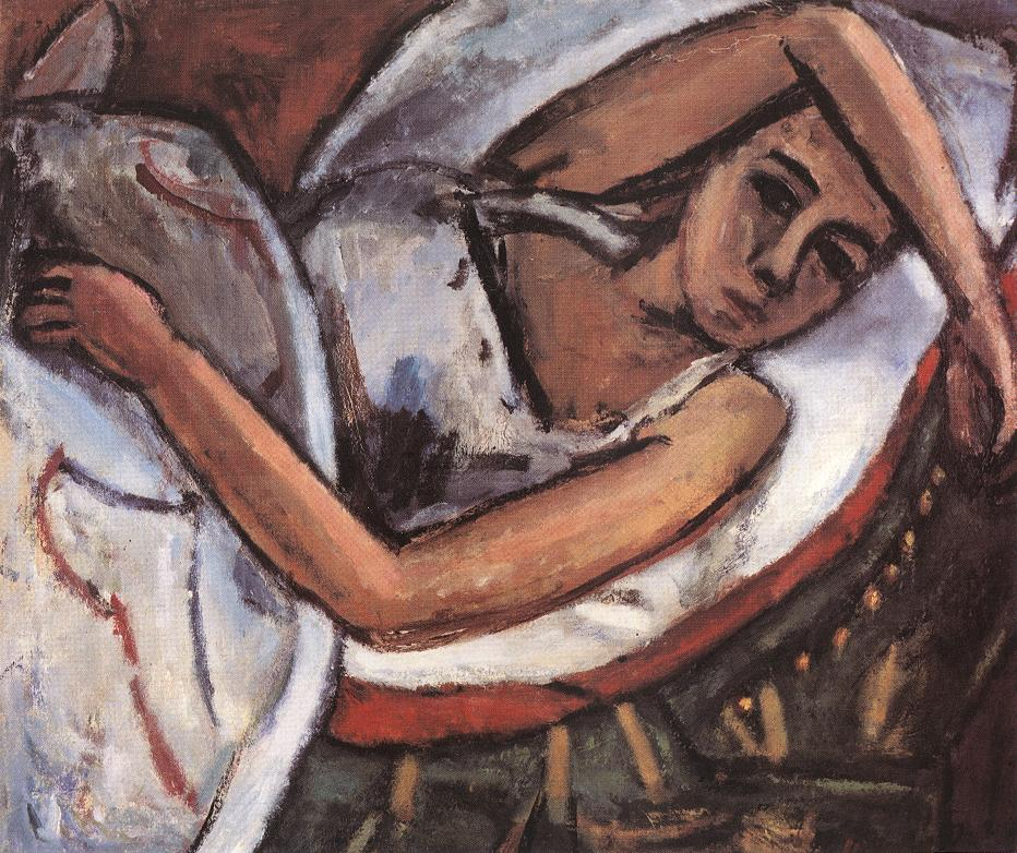 Reclining Woman c 1922 | Bela Czobel | oil painting