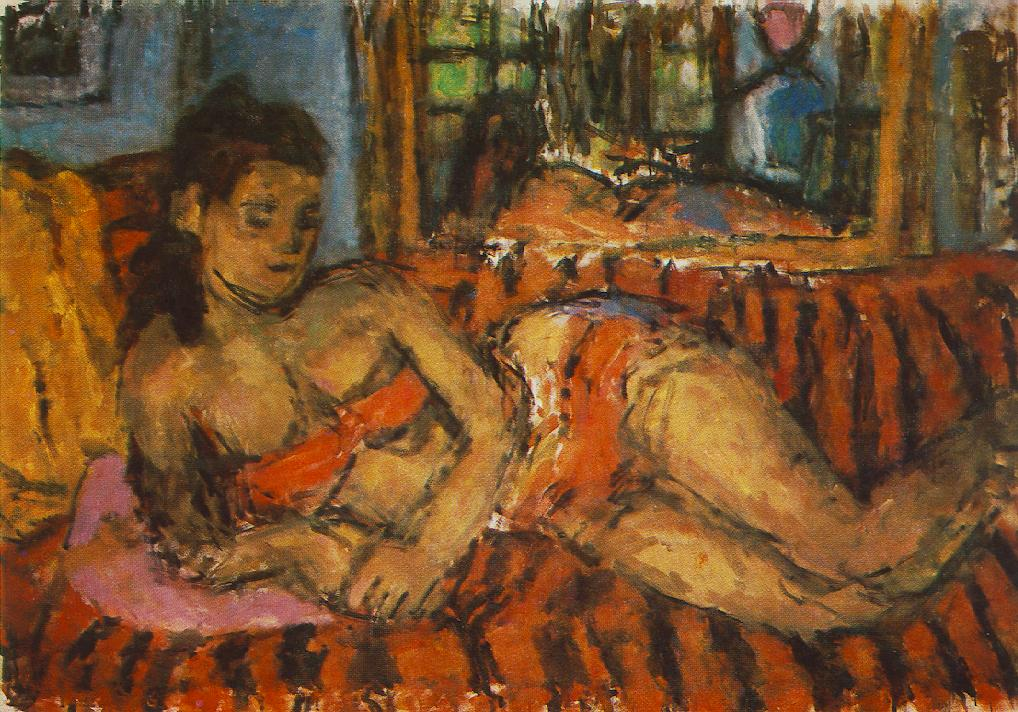 Venus of Szentendre 1968 | Bela Czobel | oil painting