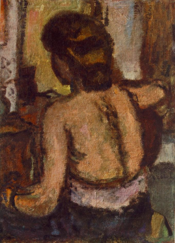 Back of a Nude 1930 35 | Bela Czobel | oil painting