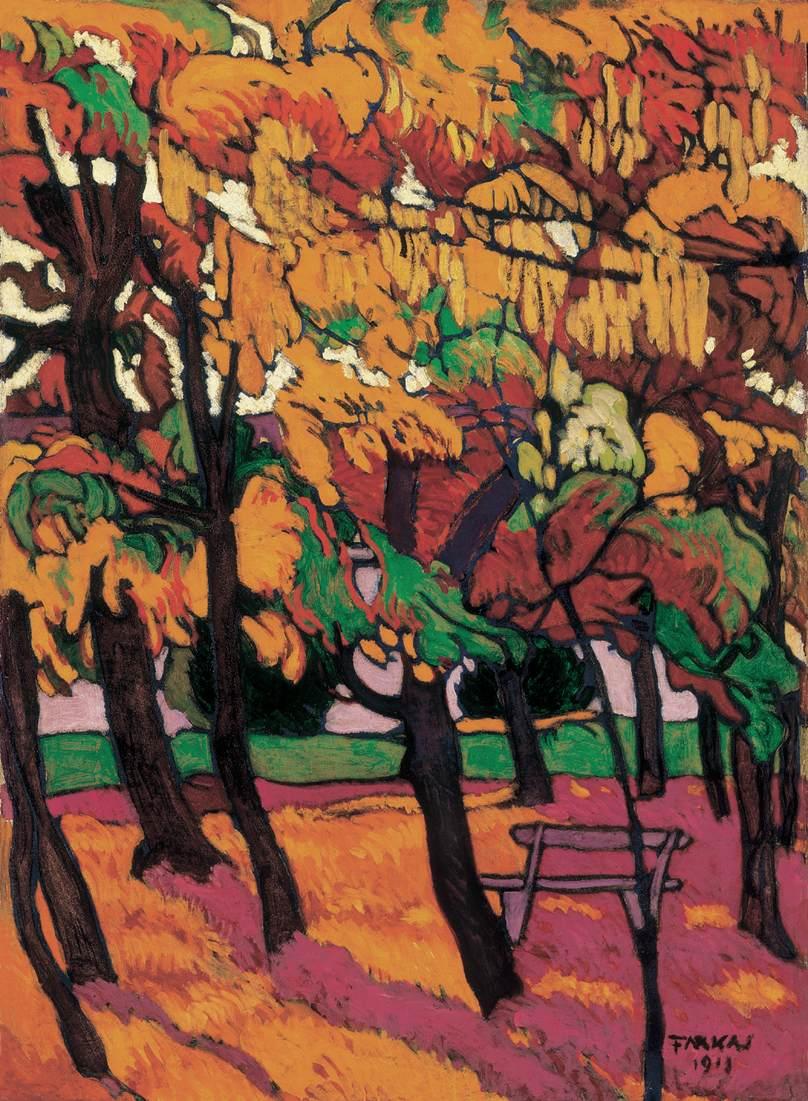 Autumn 1911 | Bela Farkas | oil painting