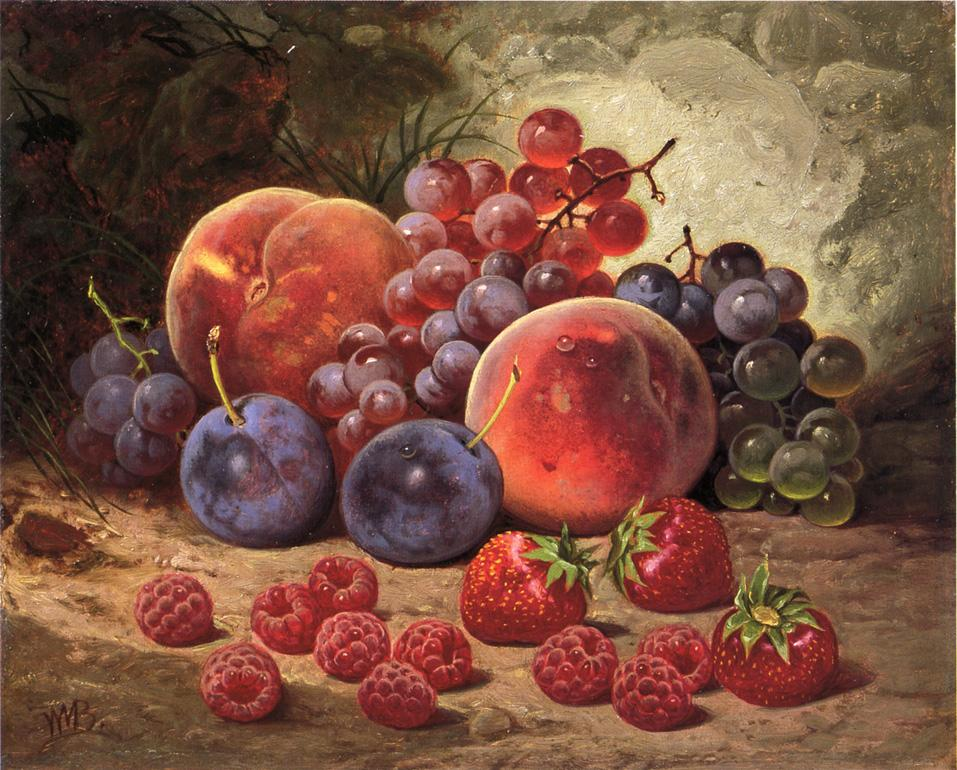Fruits of Summer   William Mason Brown   oil painting