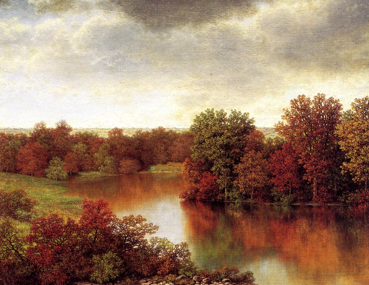 Bend in the River   William Mason Brown   oil painting