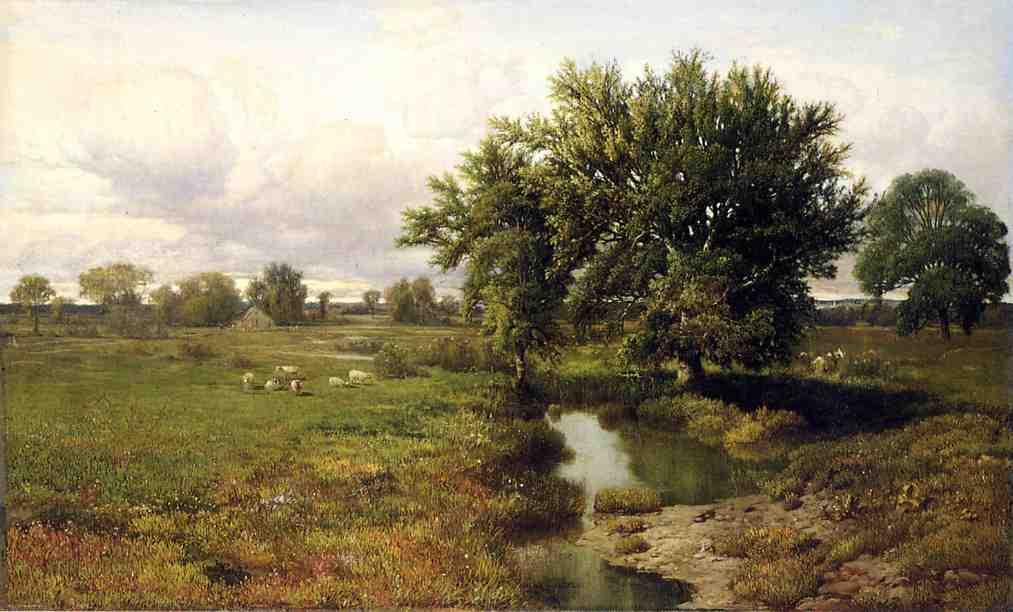 Summer Pastures   William Mason Brown   oil painting