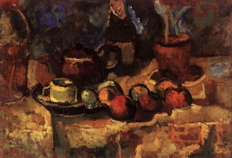 Still life | Denes Rudolf Diener | oil painting