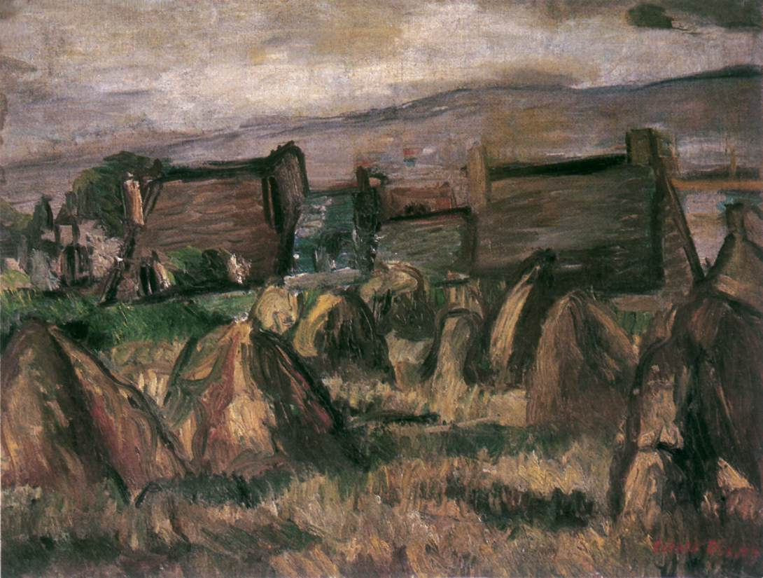 Szentendre 1932-33 | Denes Rudolf Diener | oil painting