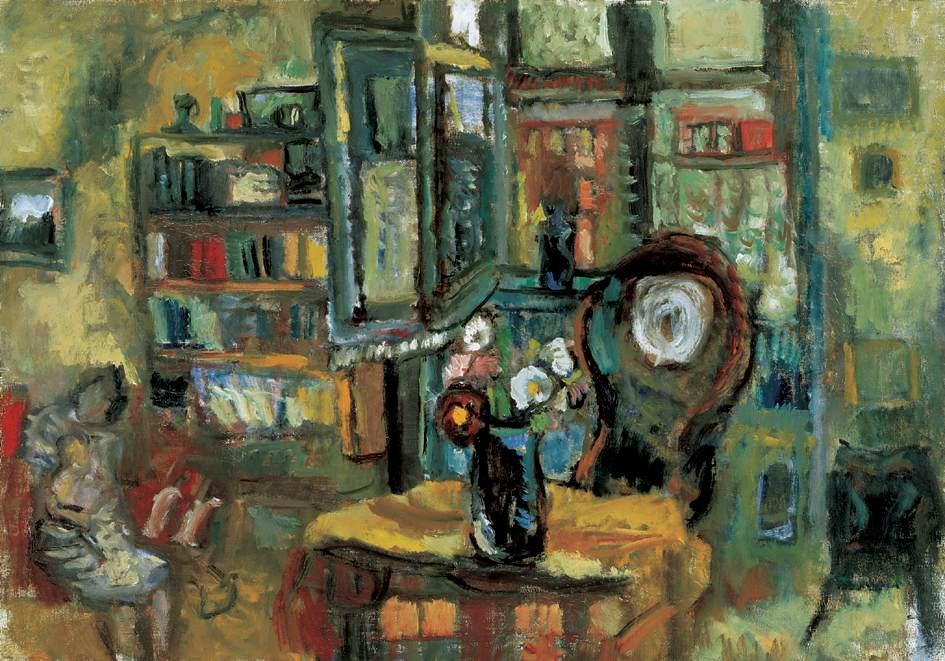 Interior 1938 | Denes Rudolf Diener | oil painting