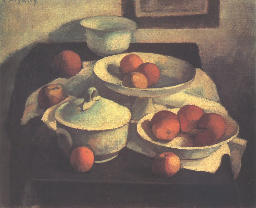 Still life with Apples c 1910 | Dezso Czigany | oil painting