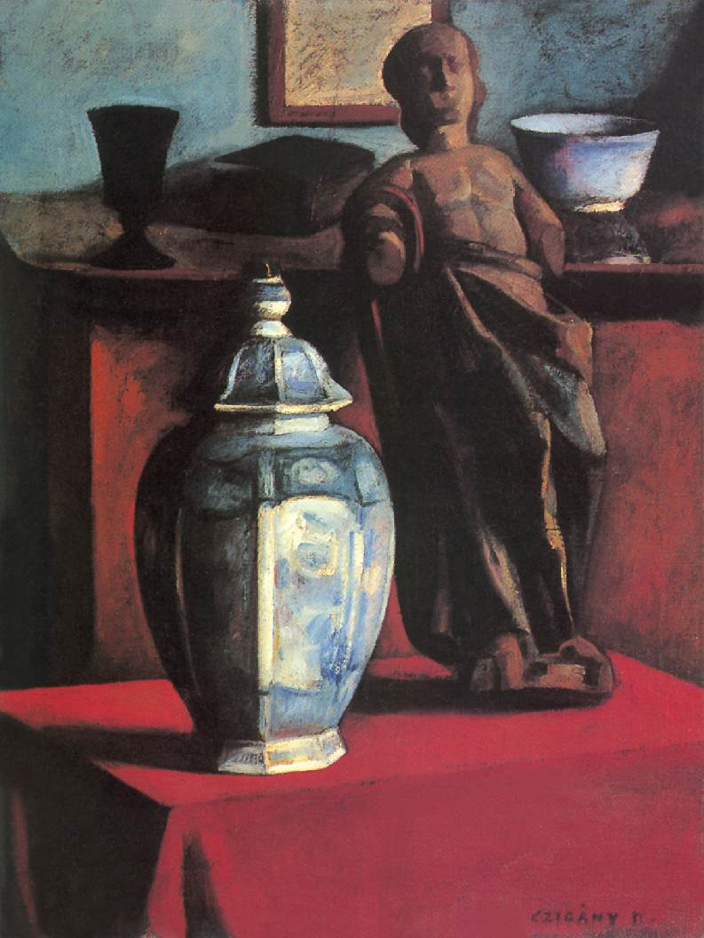 Still life in the Studio c 1910 | Dezso Czigany | oil painting