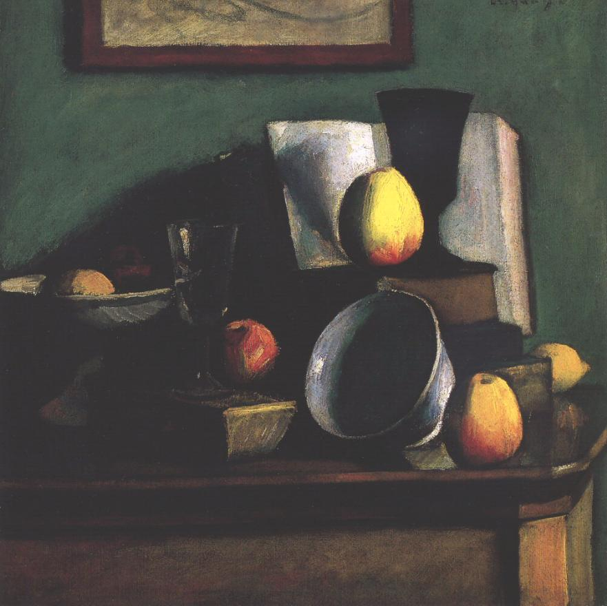 Still life with Apples and Plate 1910 | Dezso Czigany | oil painting