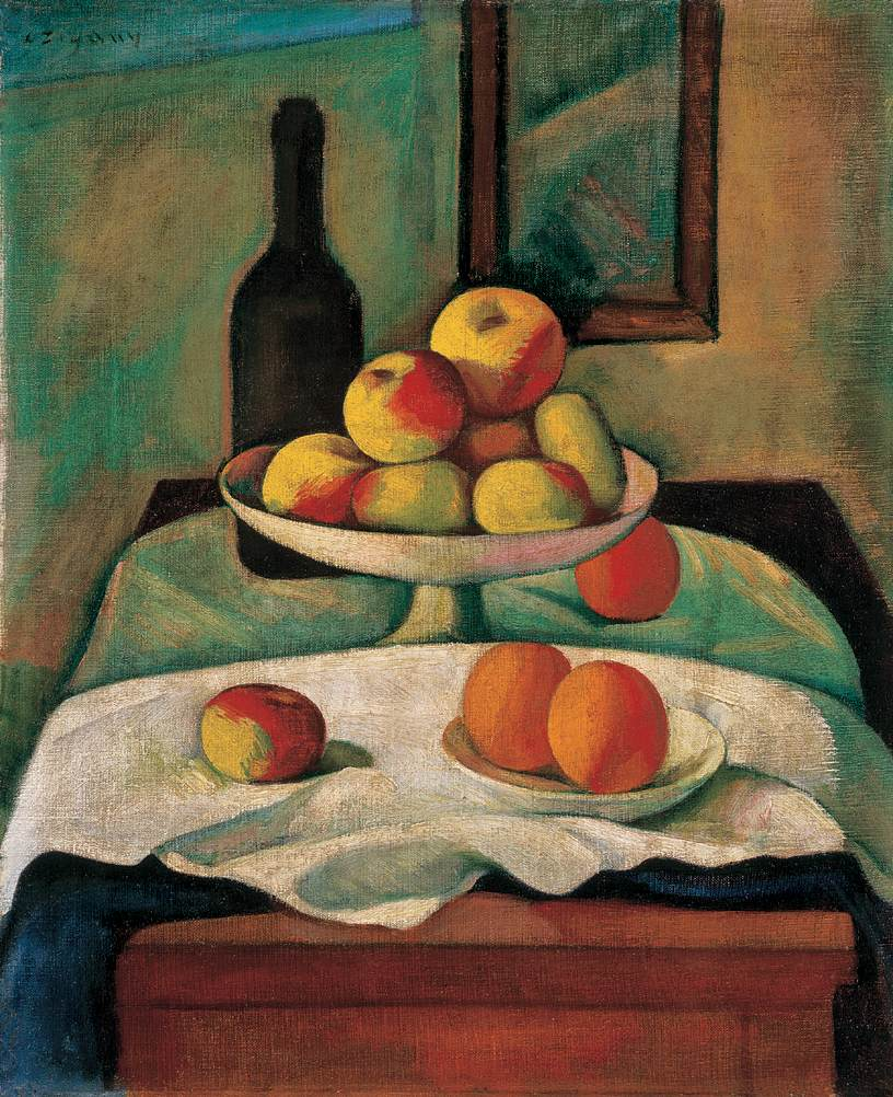 Still life with Apples and Oranges 1910s | Dezso Czigany | oil painting