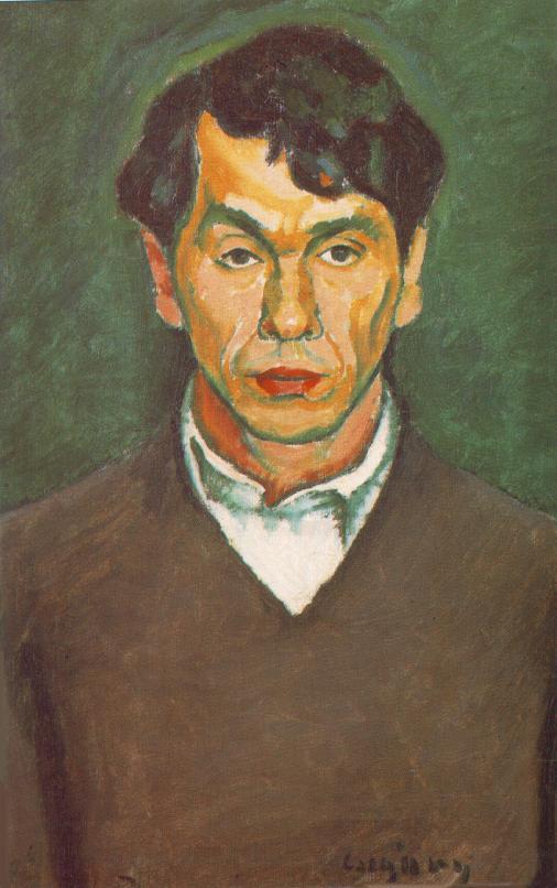 Self portrait c 1912 | Dezso Czigany | oil painting