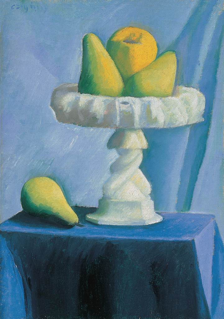 Still life with Pears 1920s | Dezso Czigany | oil painting
