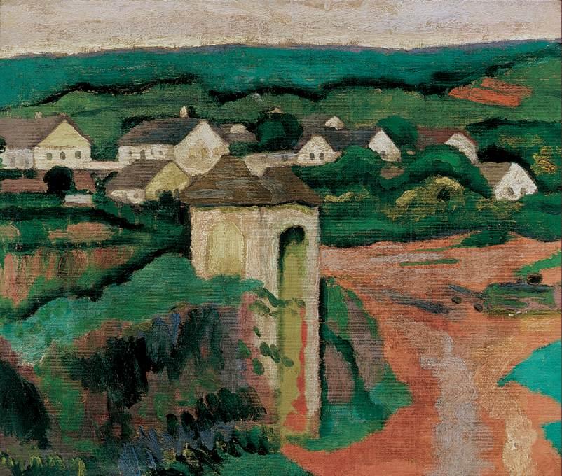 Landscape 1906 08 | Dezso Czigany | oil painting