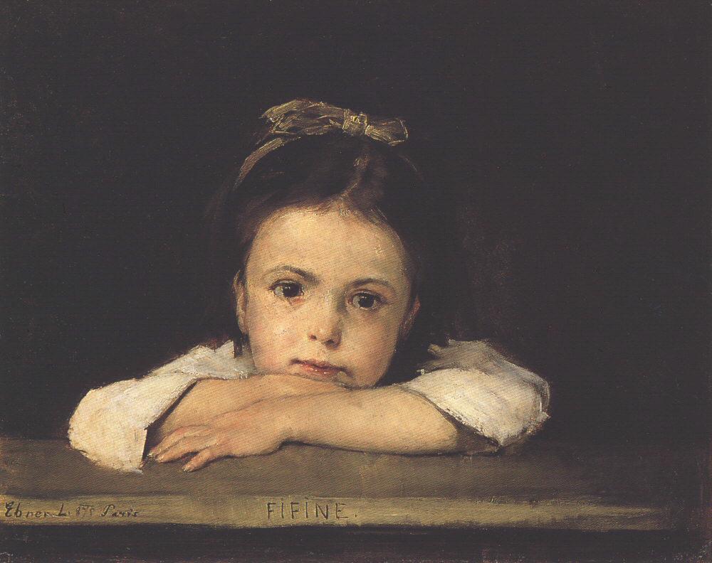 Fifine 1875 | Ebner Lajos Deak | oil painting