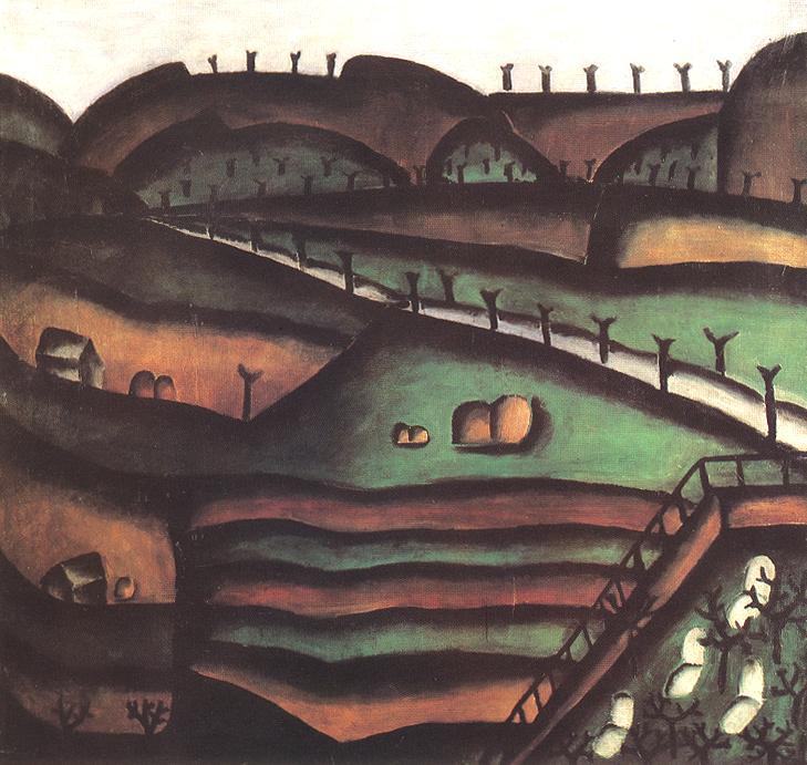 Landscape 1913 2 | Ede Bohacsek | oil painting