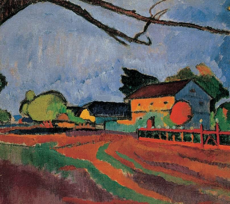 Rural Landscape 1911 12 | Geza Bornemisza | oil painting