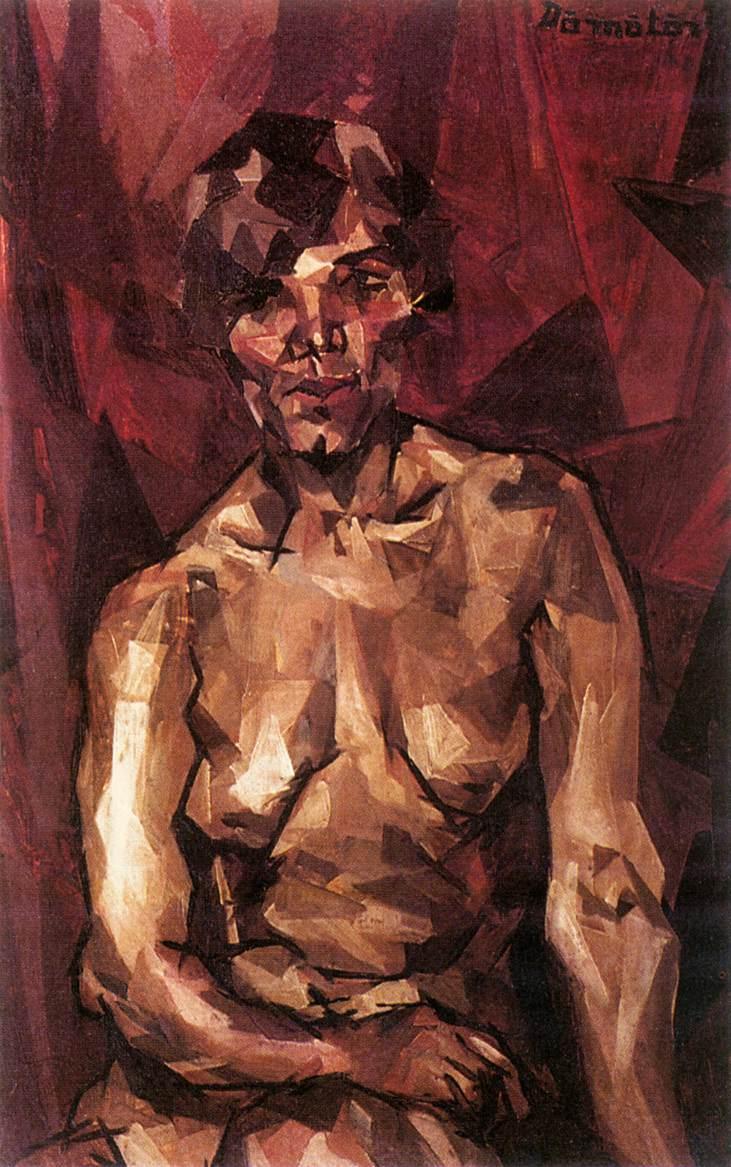 Gipsy model 1915 | Gizella Domotor | oil painting