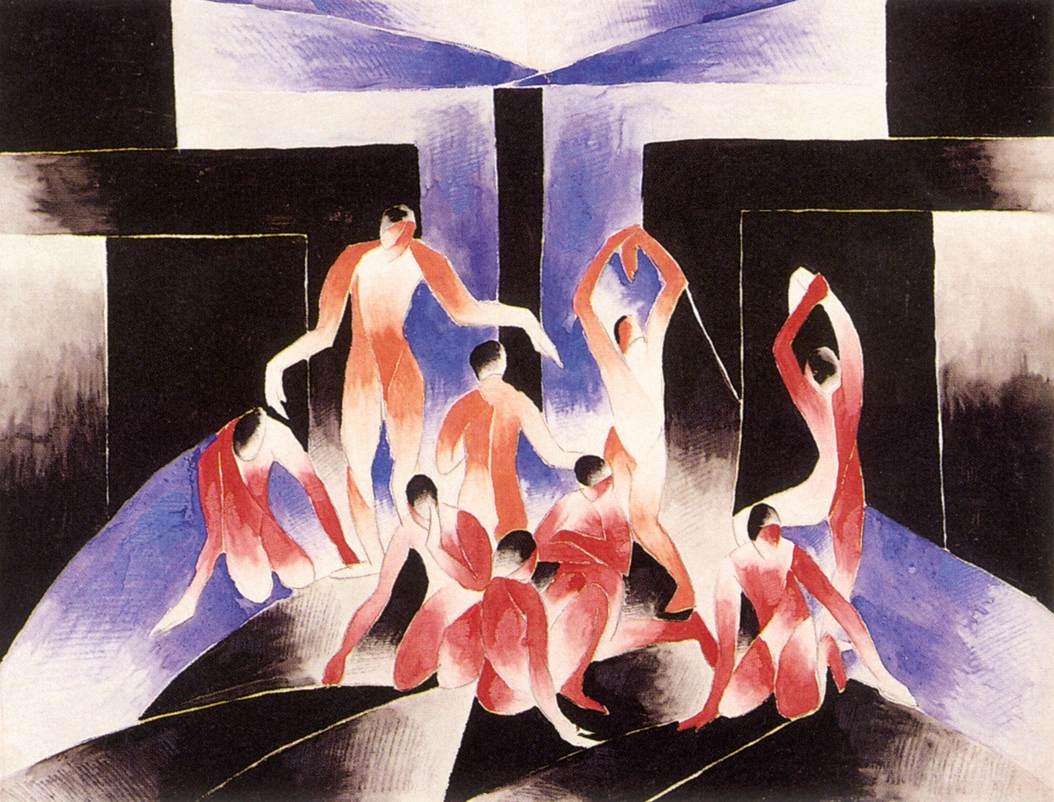 Abundance 1926-1930 | Gizella Domotor | oil painting
