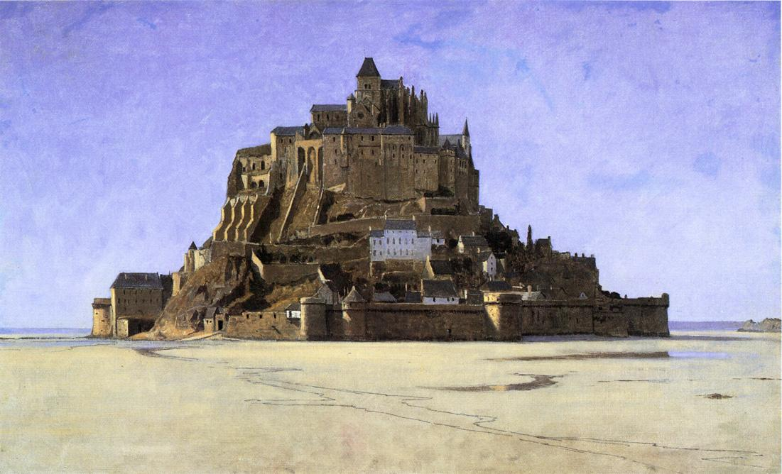 Mont Saint Michel 1868 | William Stanley Haseltine | oil painting