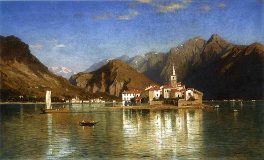Lago Maggiore | William Stanley Haseltine | oil painting