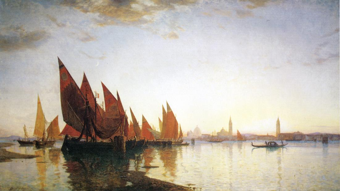 Venice 1875 | William Stanley Haseltine | oil painting