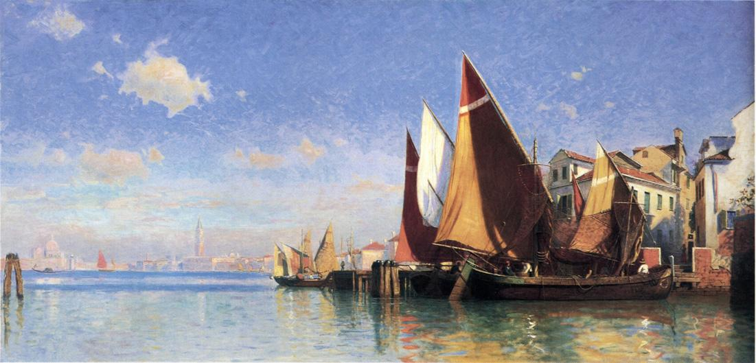Venice I 1875 | William Stanley Haseltine | oil painting