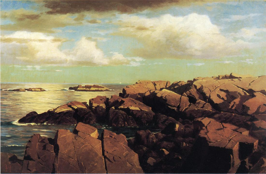 After a Shower Nahant Massachusetts 1864 | William Stanley Haseltine | oil painting