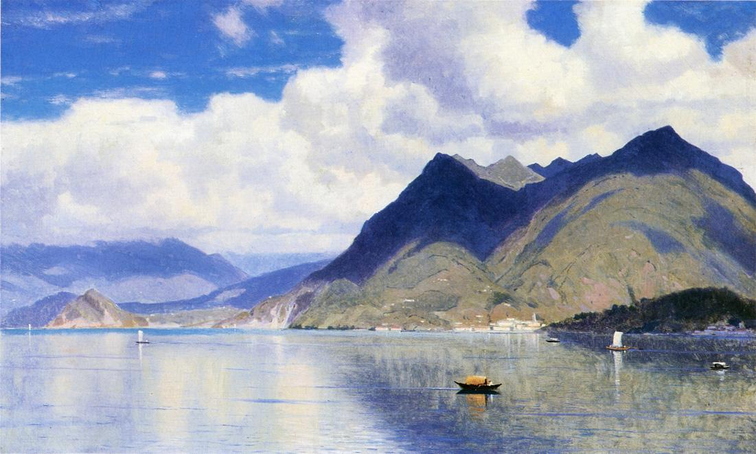 Lago Maggiore 1867 | William Stanley Haseltine | oil painting