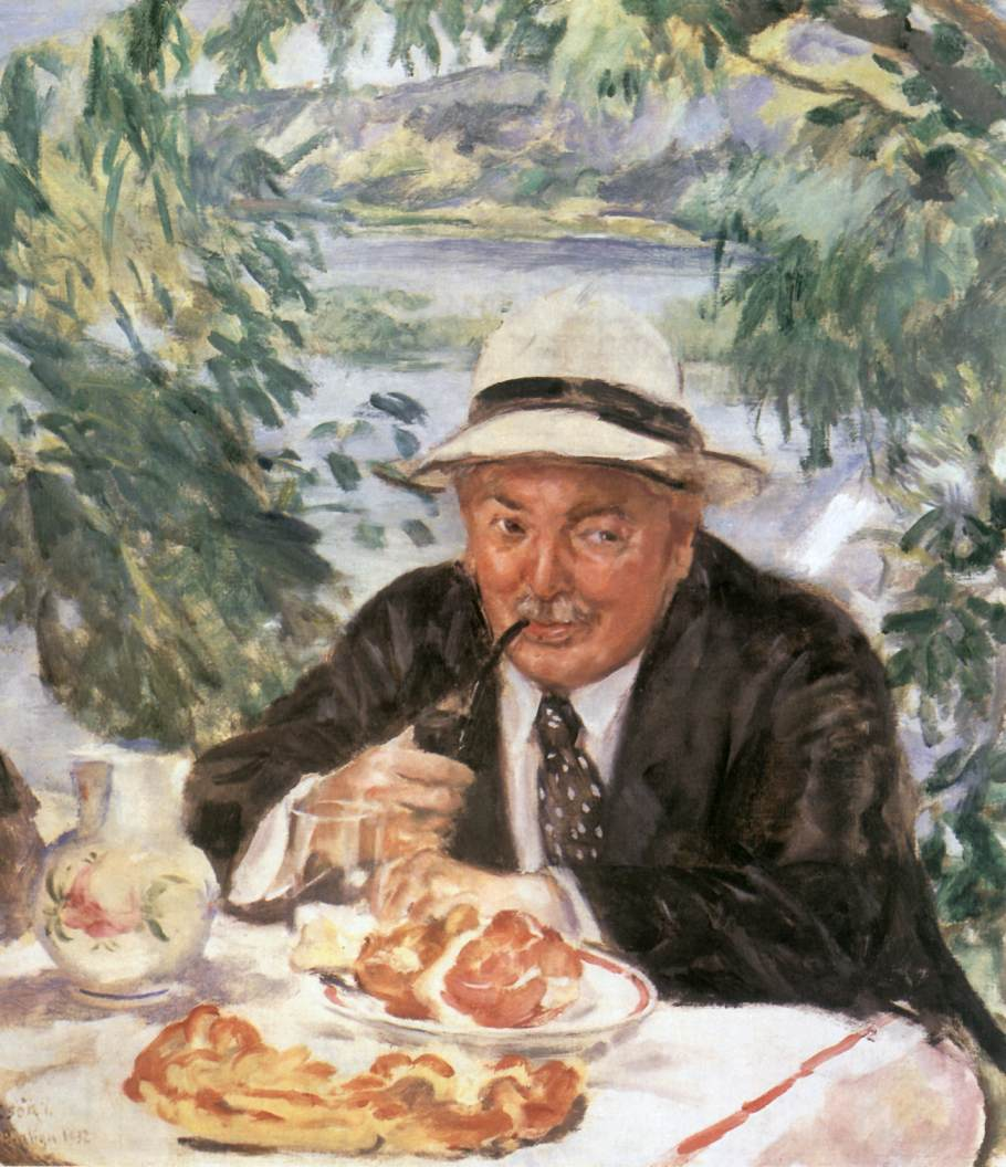 Godfather at Breakfast 1932 | Istvan Csok | oil painting