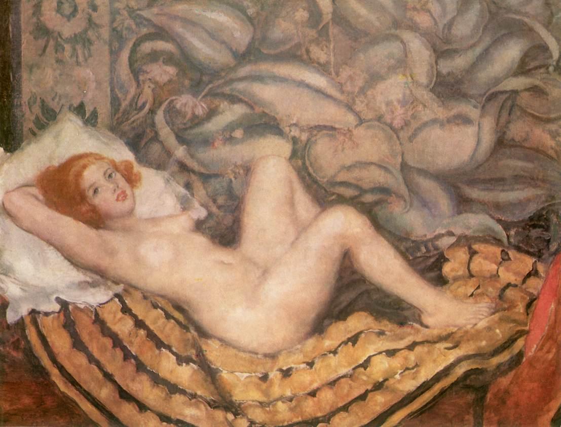 Honni soit qui mal y pense 1925 | Istvan Csok | oil painting