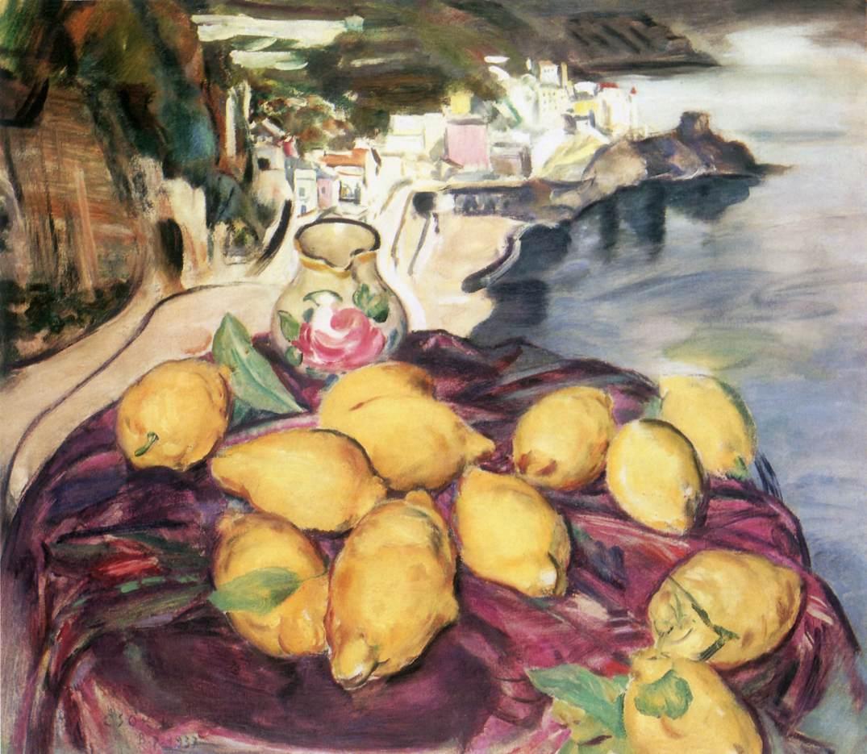 Amalfi 1937 | Istvan Csok | oil painting