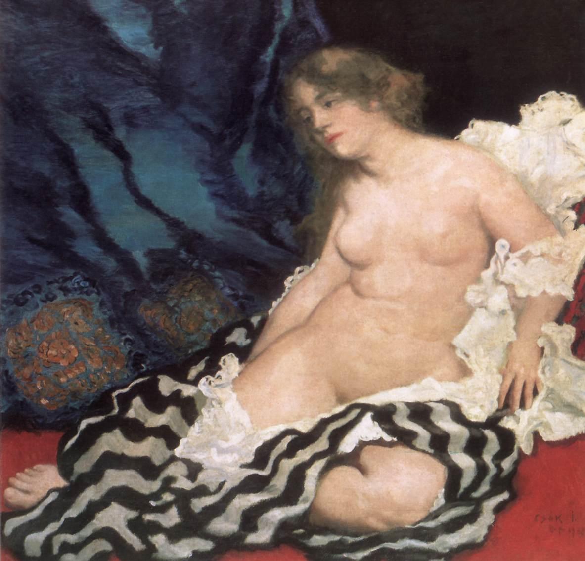 Thamar 1909 | Istvan Csok | oil painting