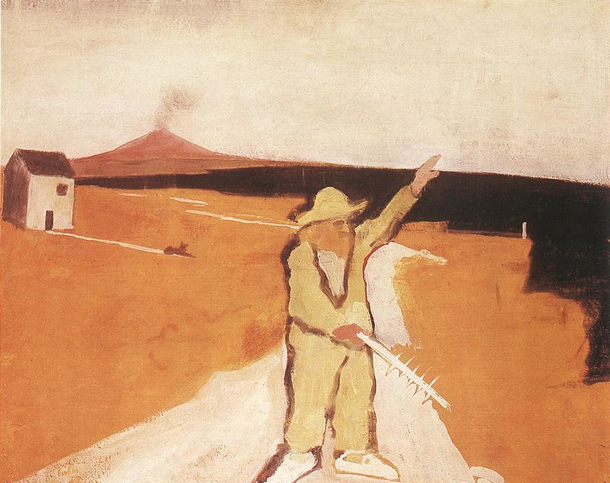 The Lunatic at Syracuse 1930 | Istvan Farkas | oil painting