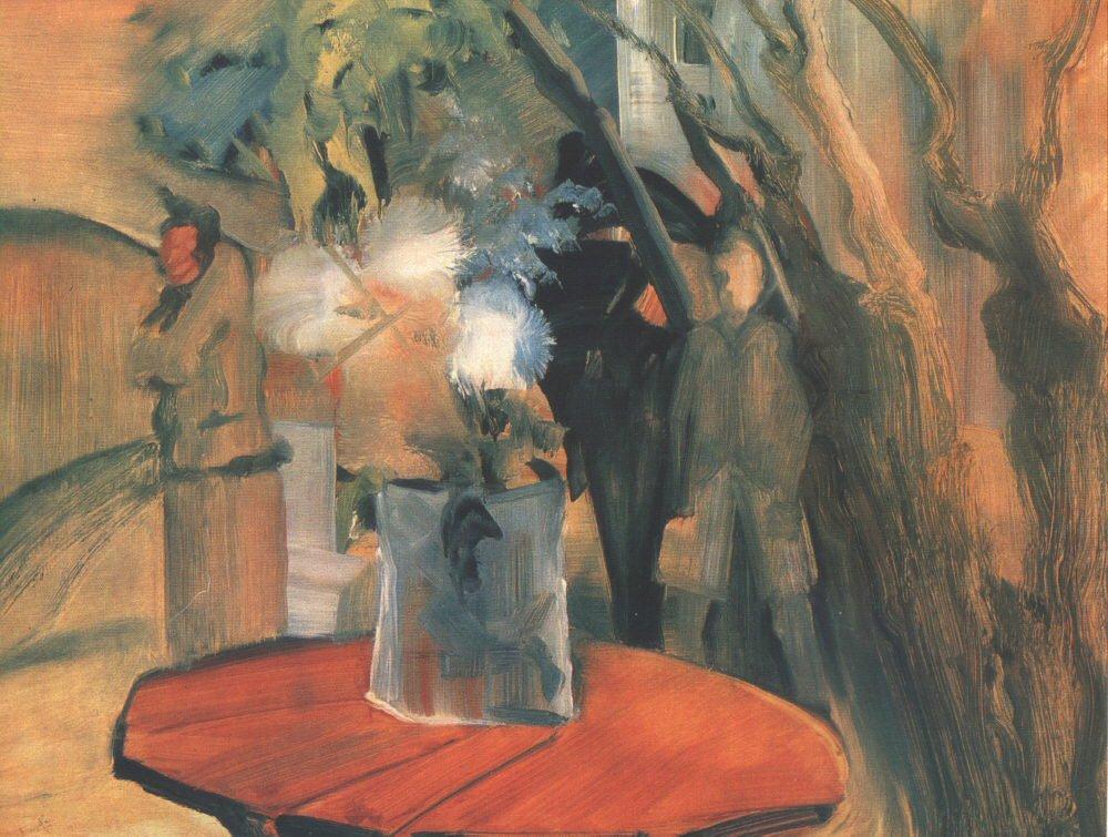 Has Anything Happened 1941 | Istvan Farkas | oil painting