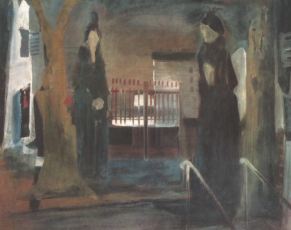 Black Women 1931 | Istvan Farkas | oil painting