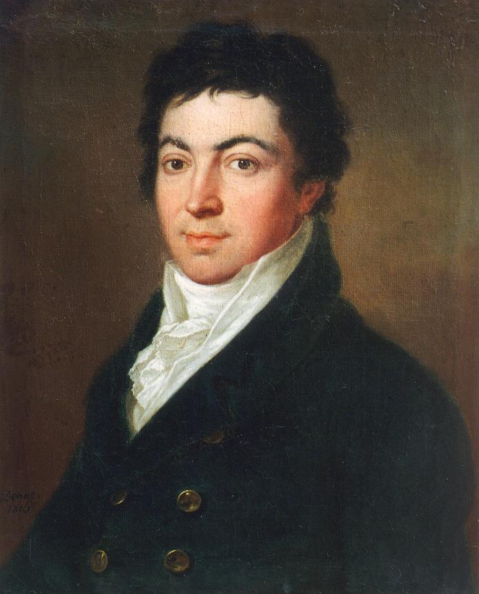 Portrait of a Man 1816   Janos Donat   oil painting