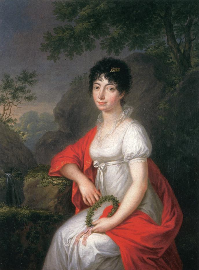 Portrait of a Woman 1810   Janos Donat   oil painting