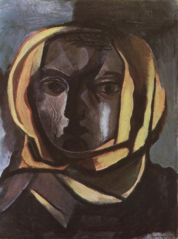 Thinker 1950 | Jeno Gadanyi | oil painting