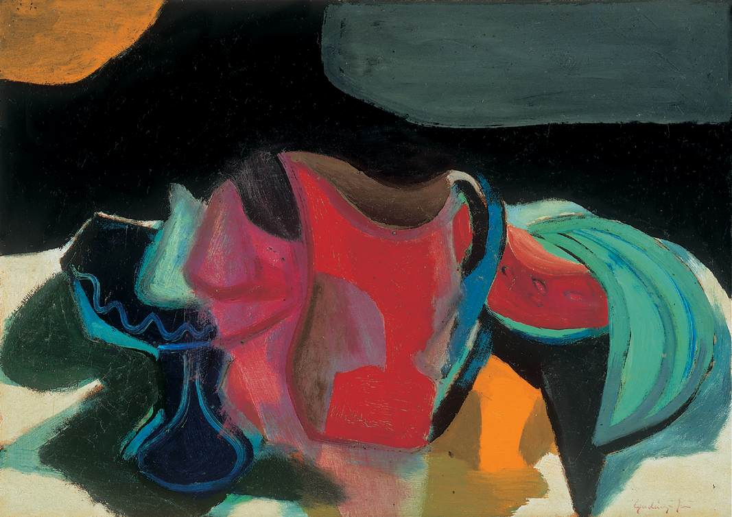 Still life 1927 | Jeno Gadanyi | oil painting
