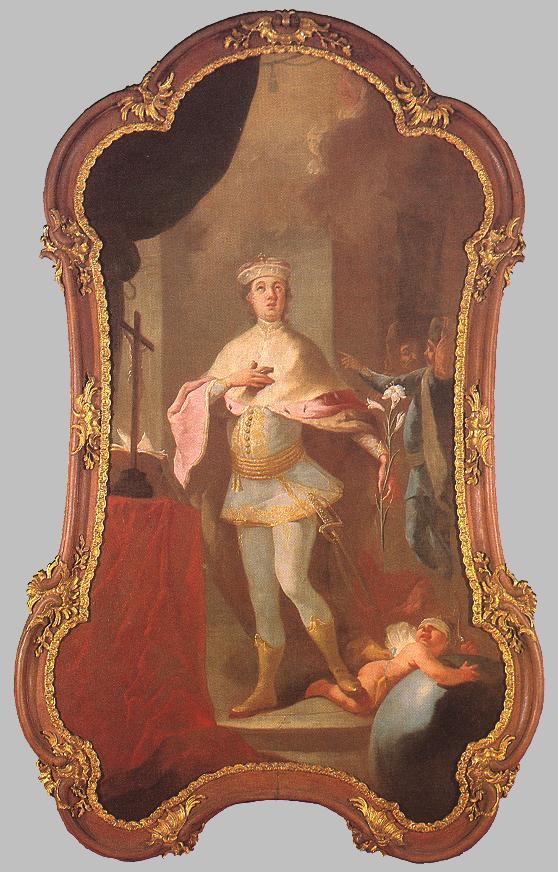 Saint Imre | Johan Ignaz Cimbal | oil painting