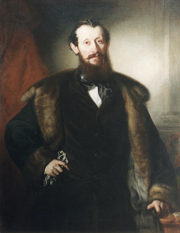 Portrait of a Man c 1850 | Jozsef Borsos | oil painting