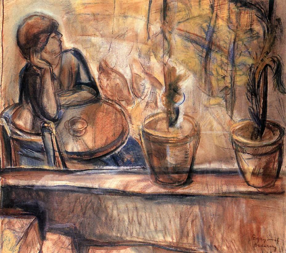 Annuska | Jozsef Egry | oil painting