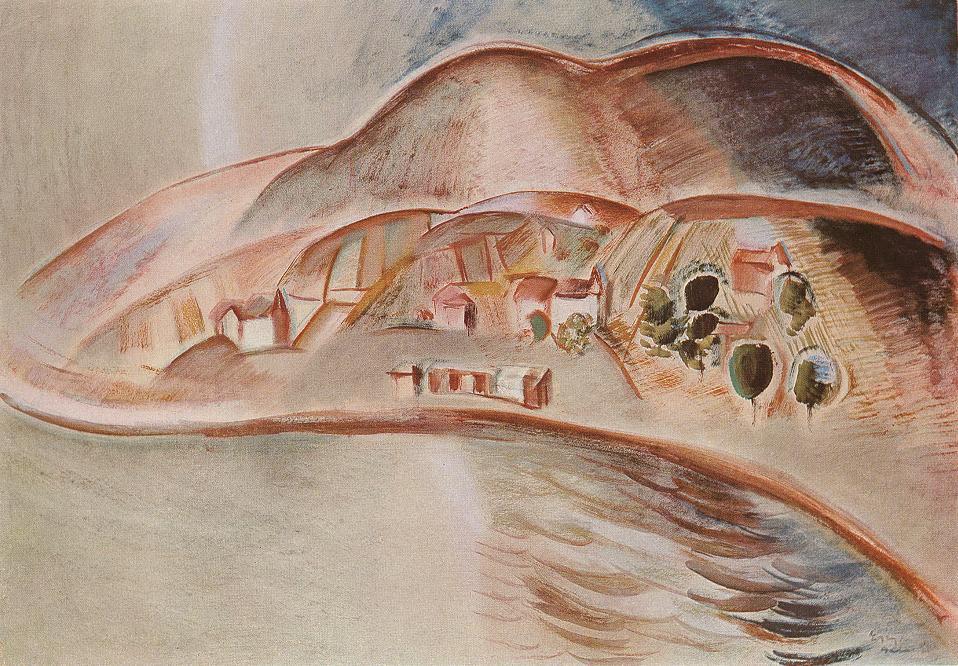 Badacsony 1930 | Jozsef Egry | oil painting