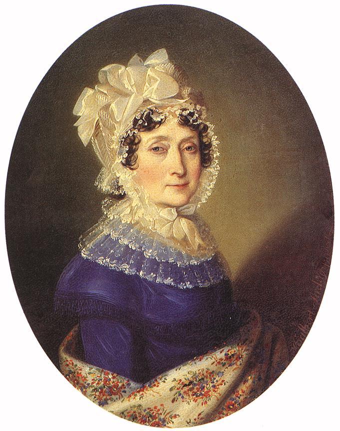 Countess Ferencne Szechenyi (Julianna Festetich) 1817 | Johann Ender | oil painting