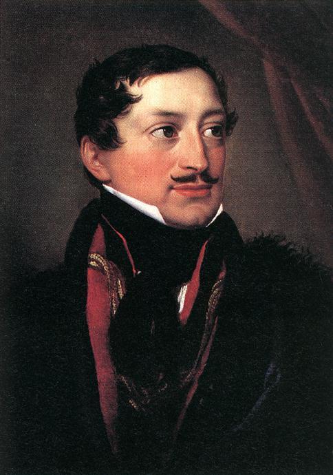 Count Mihaly Esterhazy 1830 | Johann Ender | oil painting