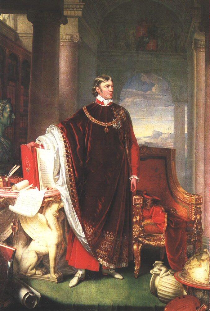 Portrait of Ferenc Szechenyi 1823 | Johann Ender | oil painting
