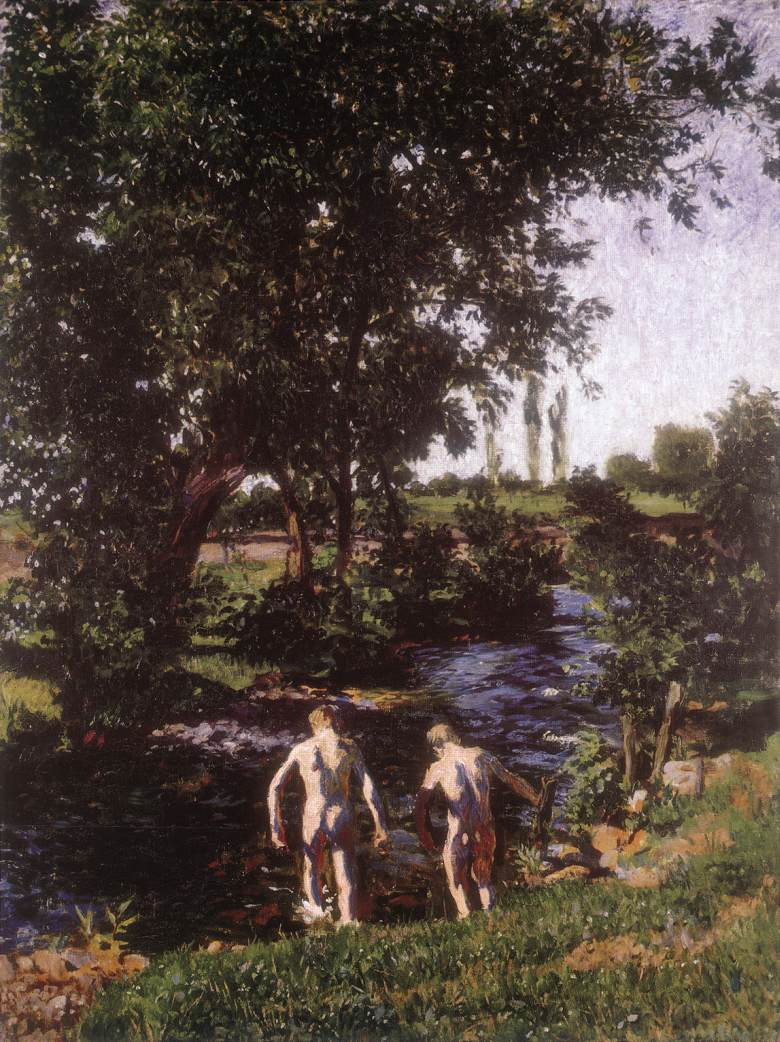 Summer 1902 | Karoly Ferenczy | oil painting