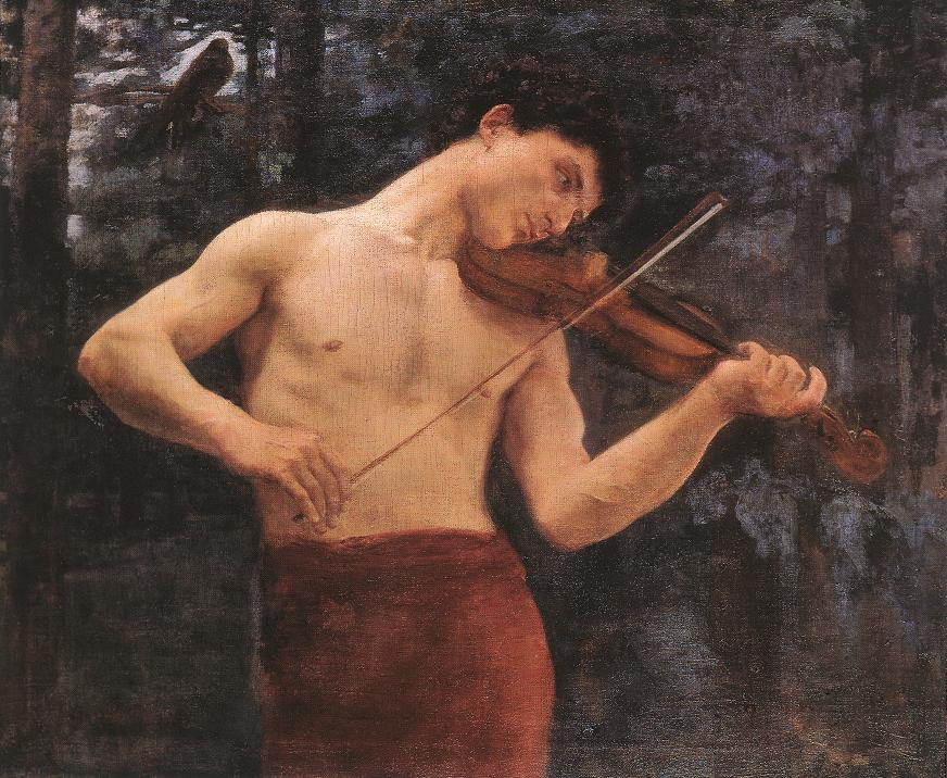 Orpheus 1894 | Karoly Ferenczy | oil painting