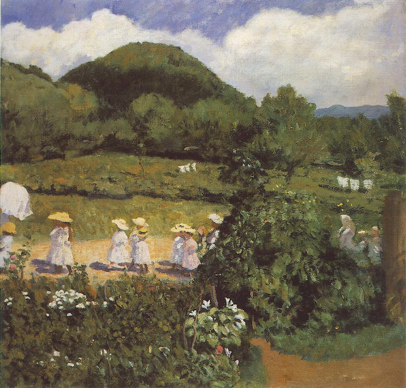 Summertime (Picnic in May) 1906 | Karoly Ferenczy | oil painting