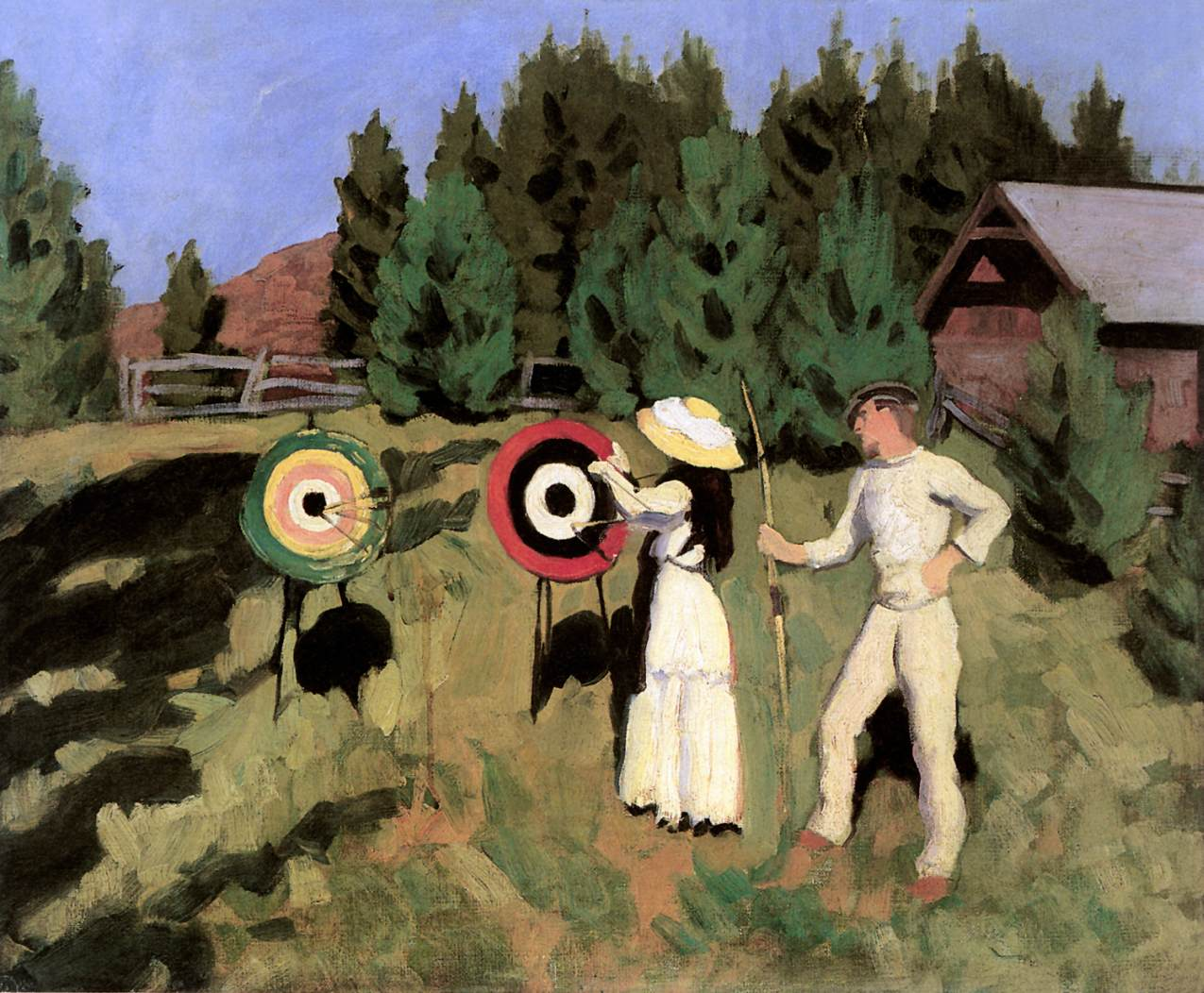 Archers 1911 | Karoly Ferenczy | oil painting
